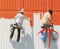 外墙墙壁粉刷